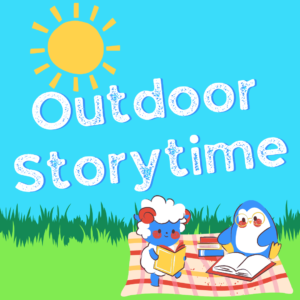 Outdoor Storytime with Ms. Pam @ Wayland Library